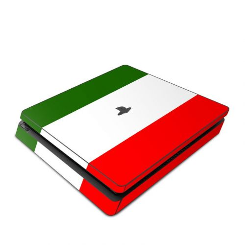 Italian Flag PlayStation 4 Slim Skin