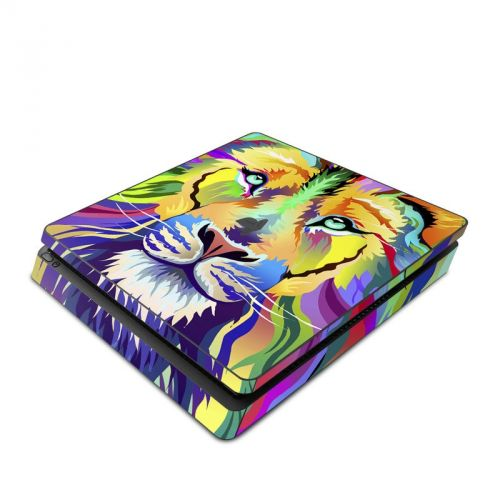 King of Technicolor PlayStation 4 Slim Skin