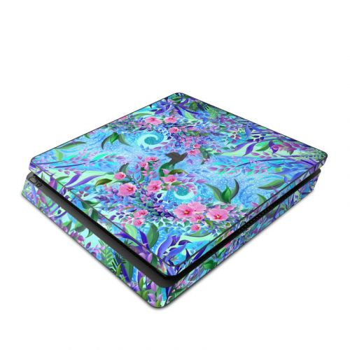 Lavender Flowers PlayStation 4 Slim Skin