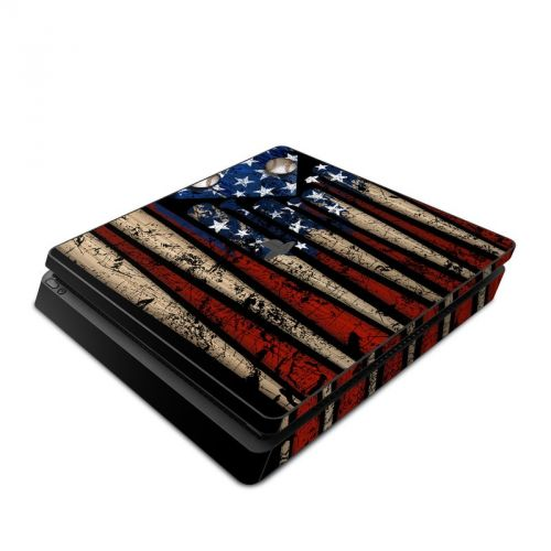 Old Glory PlayStation 4 Slim Skin