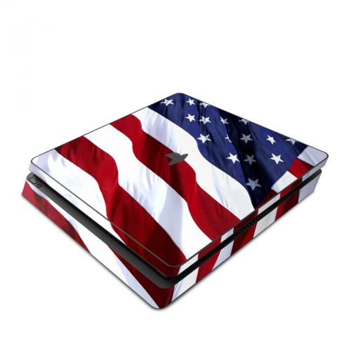 Patriotic PlayStation 4 Slim Skin