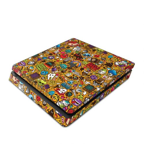 Psychedelic PlayStation 4 Slim Skin