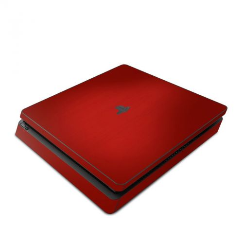 Red Burst PlayStation 4 Slim Skin