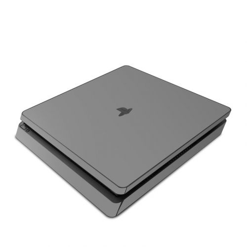 Solid State Grey PlayStation 4 Slim Skin