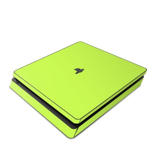 Solid State Lime PlayStation 4 Slim Skin