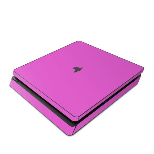 Solid State Vibrant Pink PlayStation 4 Slim Skin