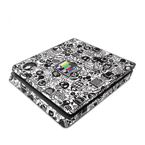 TV Kills Everything PlayStation 4 Slim Skin