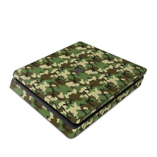 Woodland Camo PlayStation 4 Slim Skin