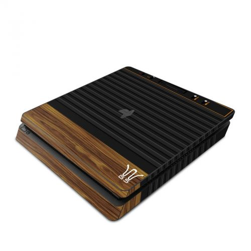 Wooden Gaming System PlayStation 4 Slim Skin