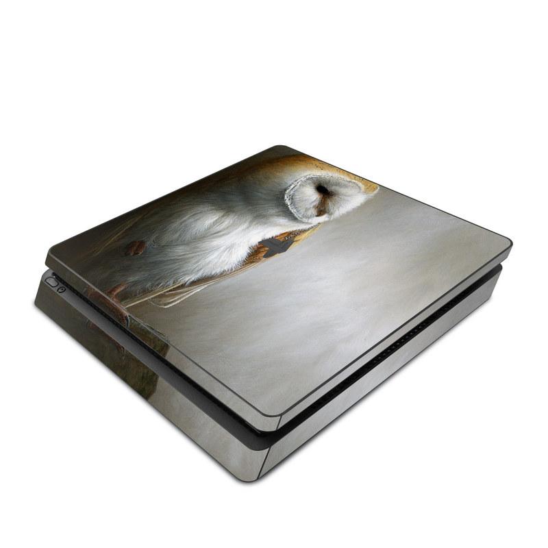 Barn Owl PlayStation 4 Slim Skin