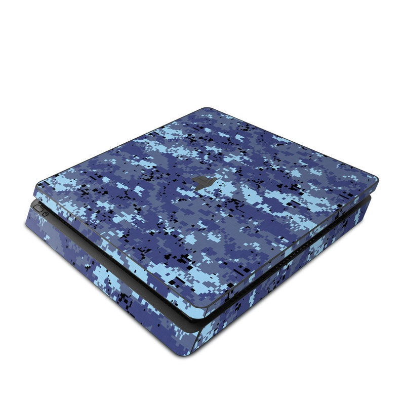 Digital Sky Camo PlayStation 4 Slim Skin