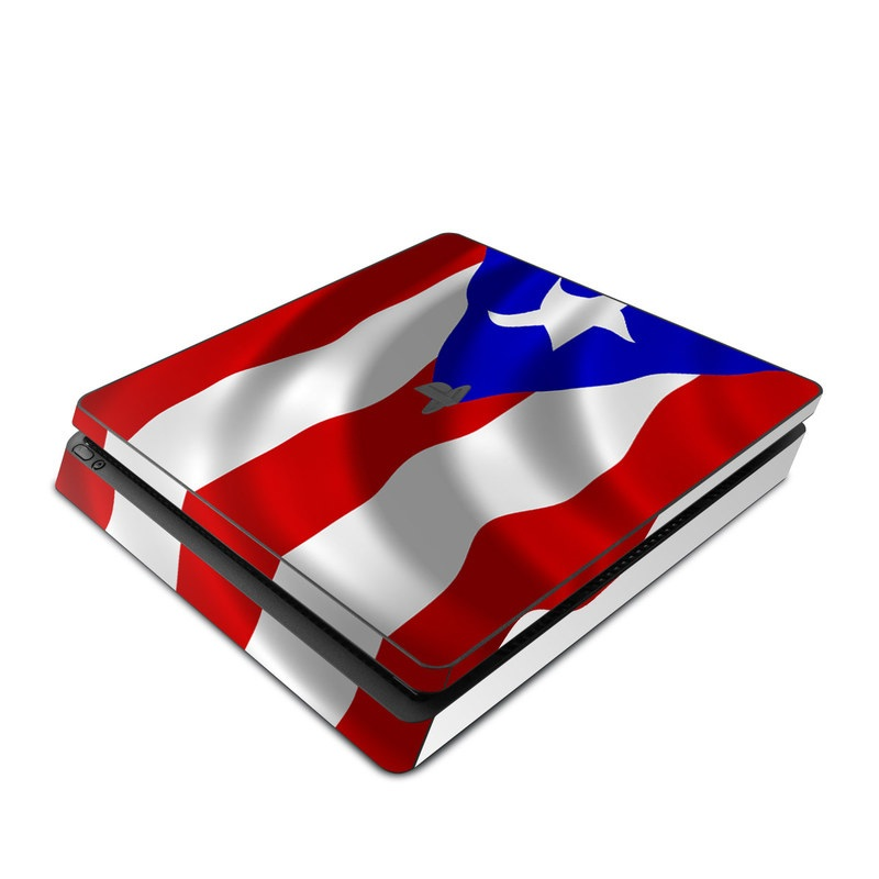 Puerto Rican Flag PlayStation 4 Slim Skin