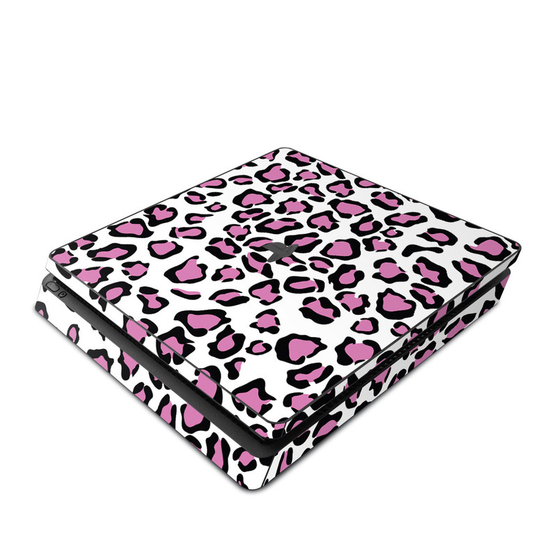 PlayStation 4 Slim Skin design of Pink, Pattern, Design, Textile, Magenta with white, black, gray, purple, red colors