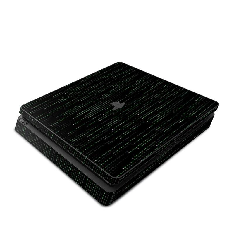 Matrix Style Code PlayStation 4 Slim Skin