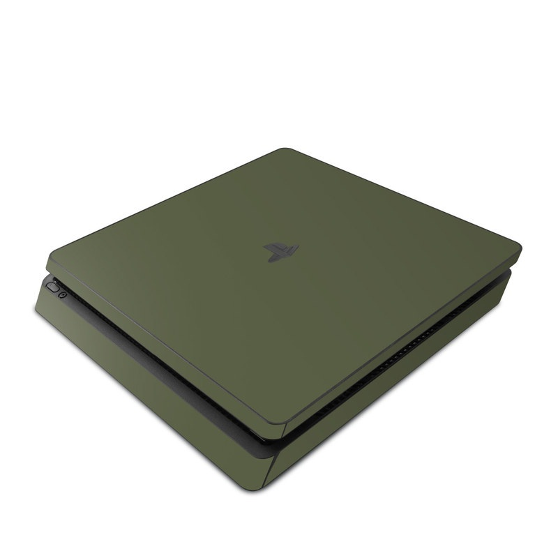 Solid State Olive Drab PlayStation 4 Slim Skin