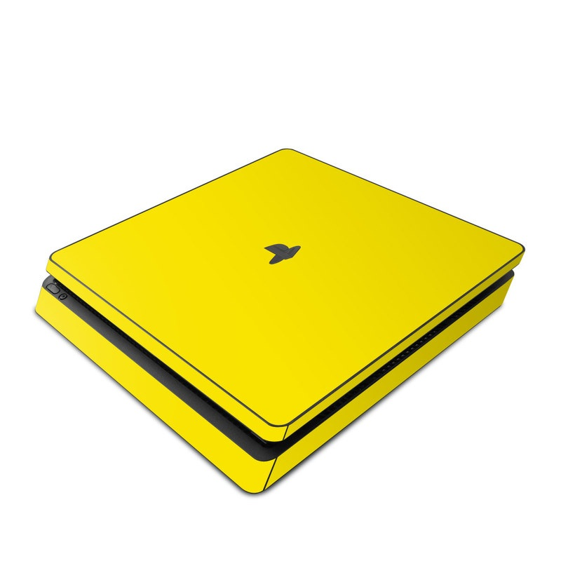 Solid State Yellow PlayStation 4 Slim Skin