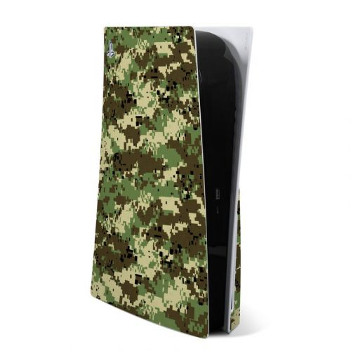 Digital Woodland Camo PlayStation 5 Skin