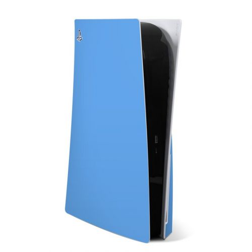 Solid State Blue PlayStation 5 Skin