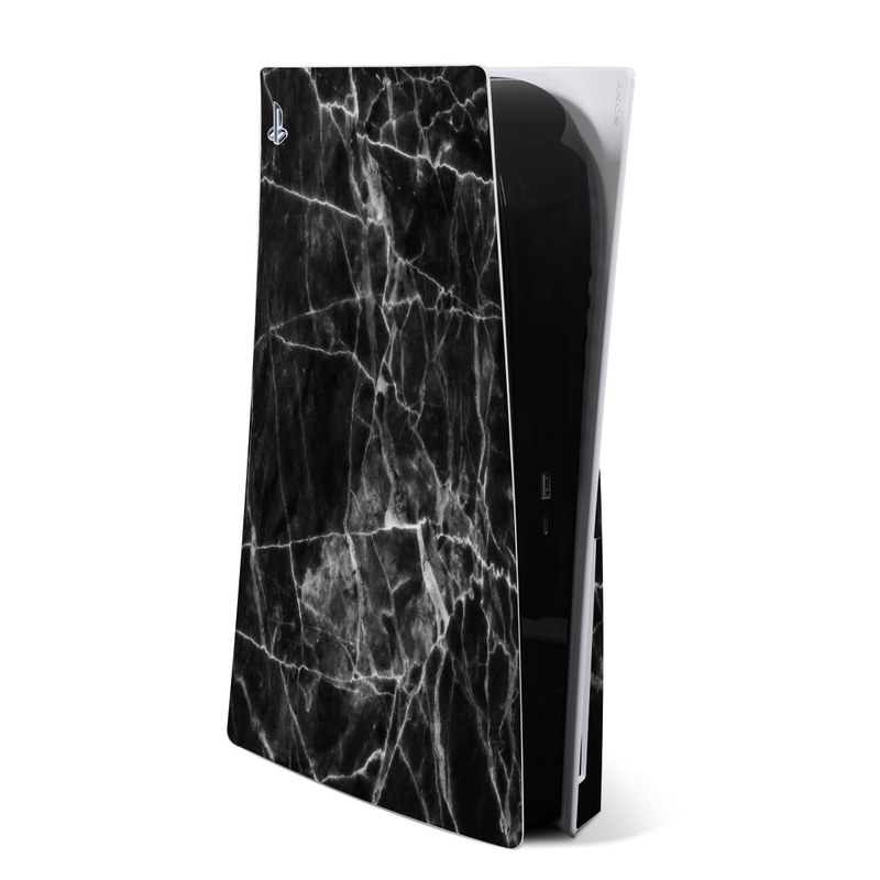 PlayStation 5 Skin design of Black, White, Nature, Black-and-white, Monochrome photography, Branch, Atmosphere, Atmospheric phenomenon, Tree, Sky with black, white colors