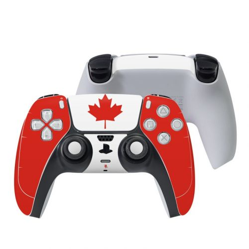 Canadian Flag PlayStation 5 Controller Skin