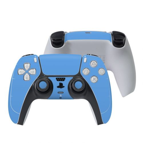 Solid State Blue PlayStation 5 Controller Skin