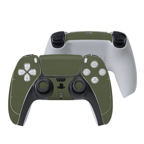 Solid State Olive Drab PlayStation 5 Controller Skin