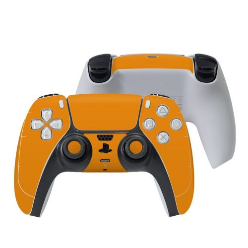 Solid State Orange PlayStation 5 Controller Skin