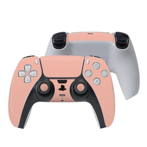 Solid State Peach PlayStation 5 Controller Skin