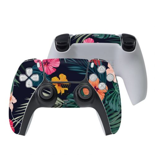Tropical Hibiscus PlayStation 5 Controller Skin