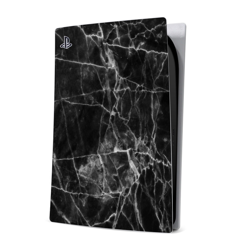 PlayStation 5 Digital Edition Skin design of Black, White, Nature, Black-and-white, Monochrome photography, Branch, Atmosphere, Atmospheric phenomenon, Tree, Sky with black, white colors