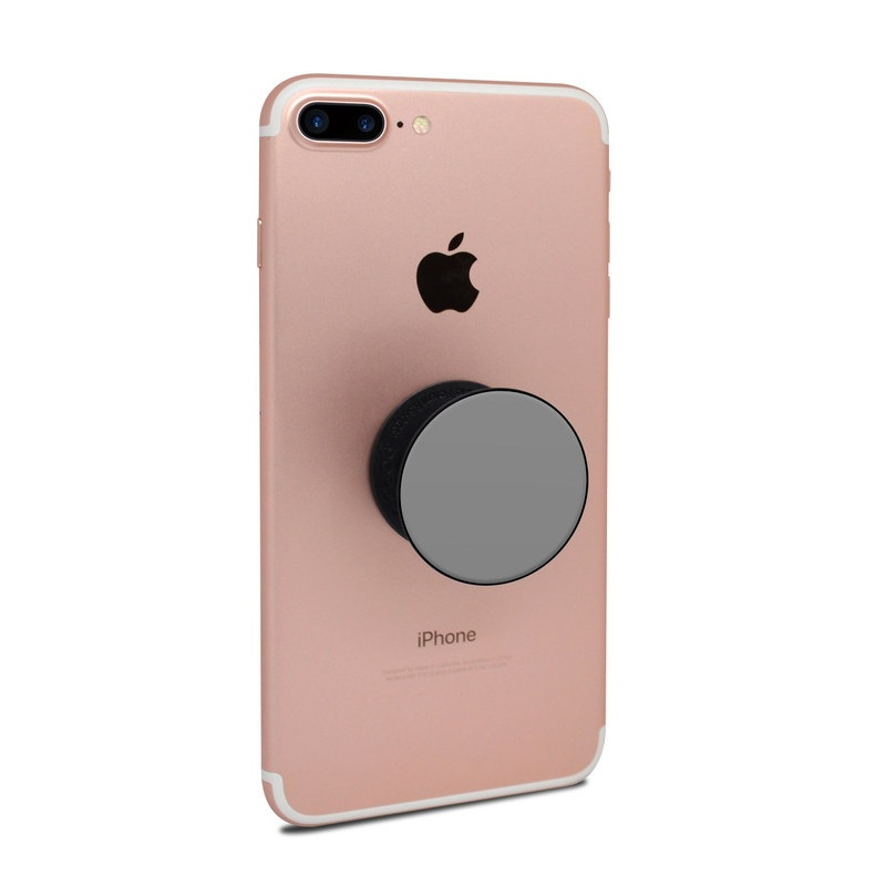Solid State Grey PopSocket Skin