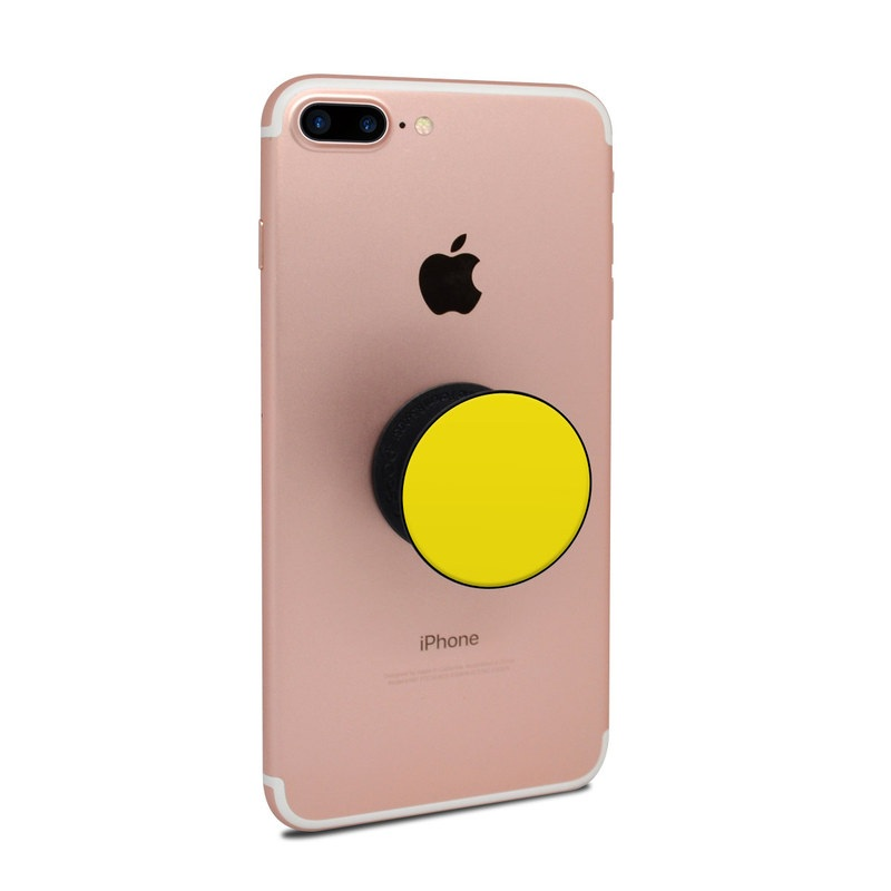 Solid State Yellow PopSocket Skin