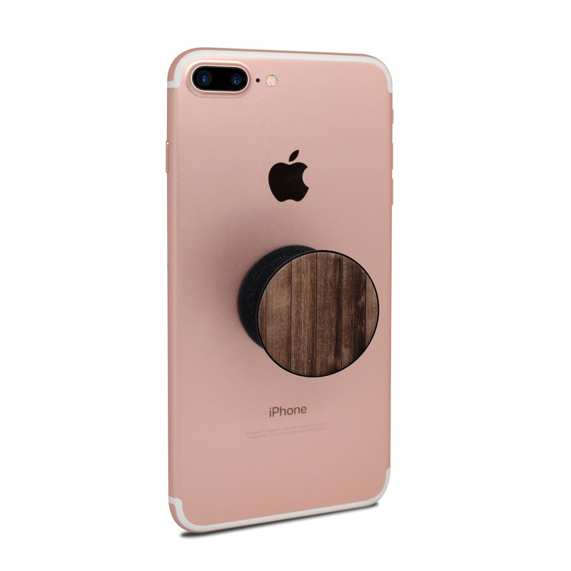 Stained Wood PopSocket Skin