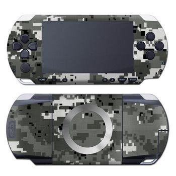 Digital Urban Camo PSP Skin
