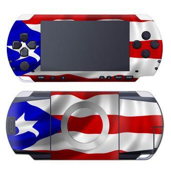 Puerto Rican Flag PSP Skin