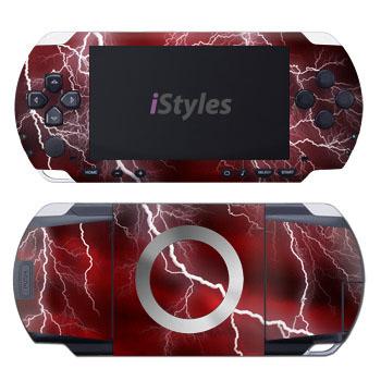 Apocalypse Red PSP Skin