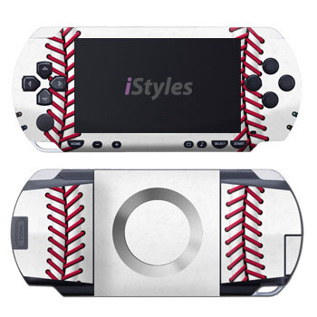 PSP 1st Gen Skin design of Red, Line, Pink, Parallel, Paper with white, red colors