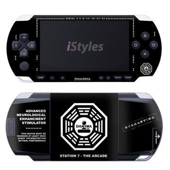 Dharma Initiative Black PSP Skin