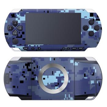 Digital Sky Camo PSP Skin
