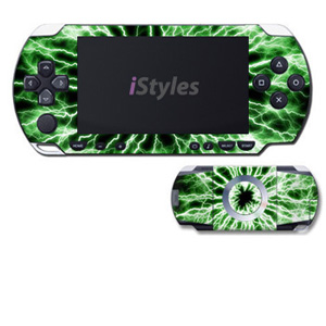Electrified (Green) PSP Skin