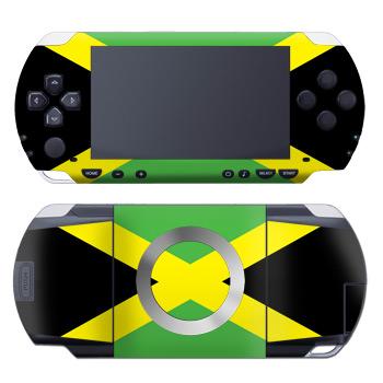 Jamaican Flag PSP Skin