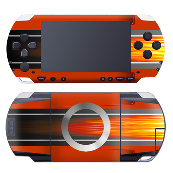 Hot Rod PSP Skin