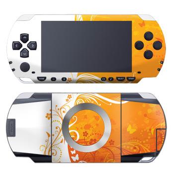 Orange Crush PSP Skin