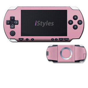 PSP 1st Gen Skin design with pink colors