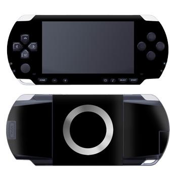 Solid State Black PSP Skin