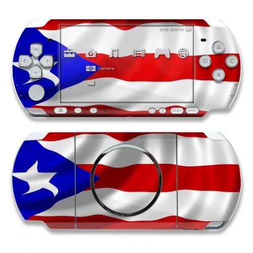 Puerto Rican Flag PSP 3000 Skin