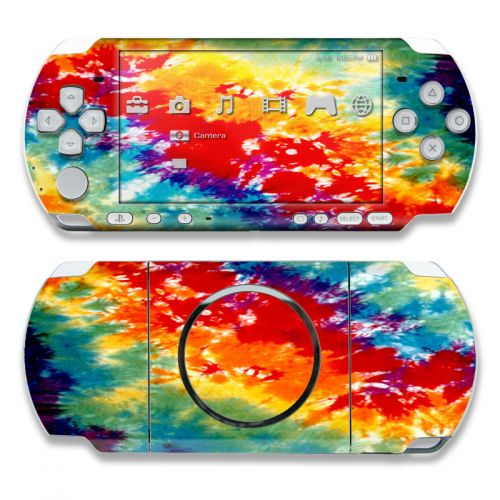 Tie Dyed PSP 3000 Skin