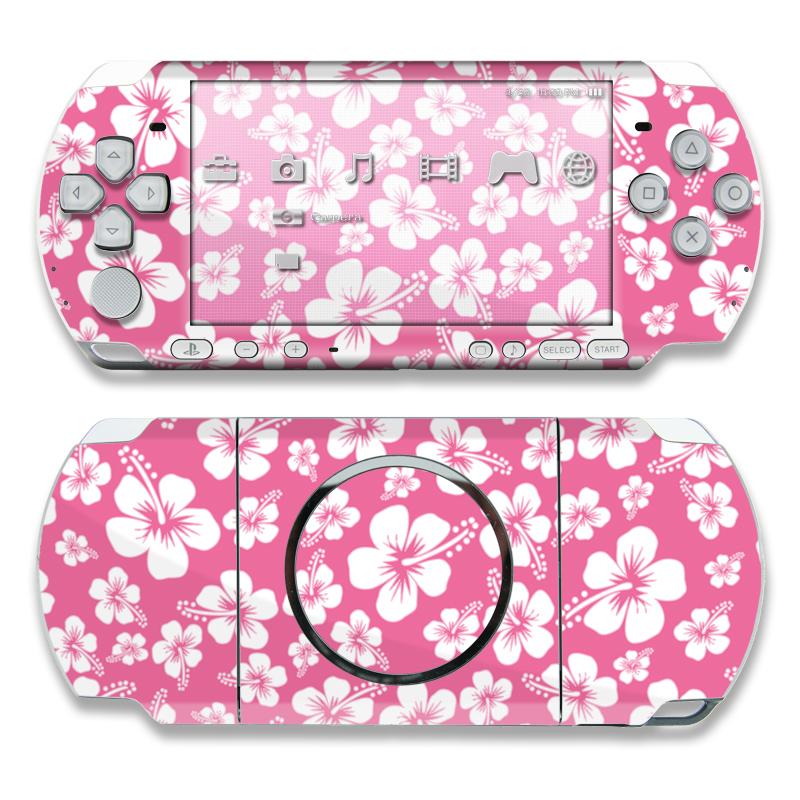 Aloha Pink PSP 3000 Skin