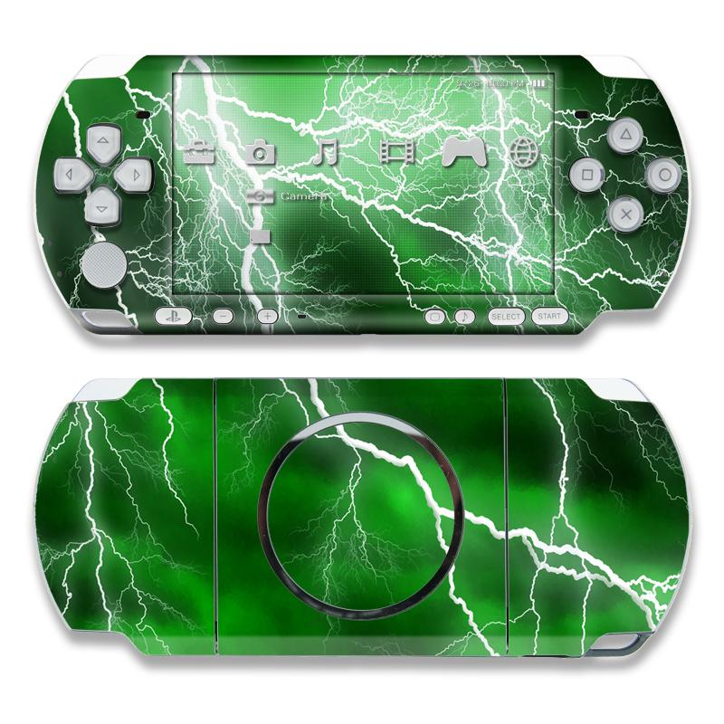 Apocalypse Green PSP 3000 Skin