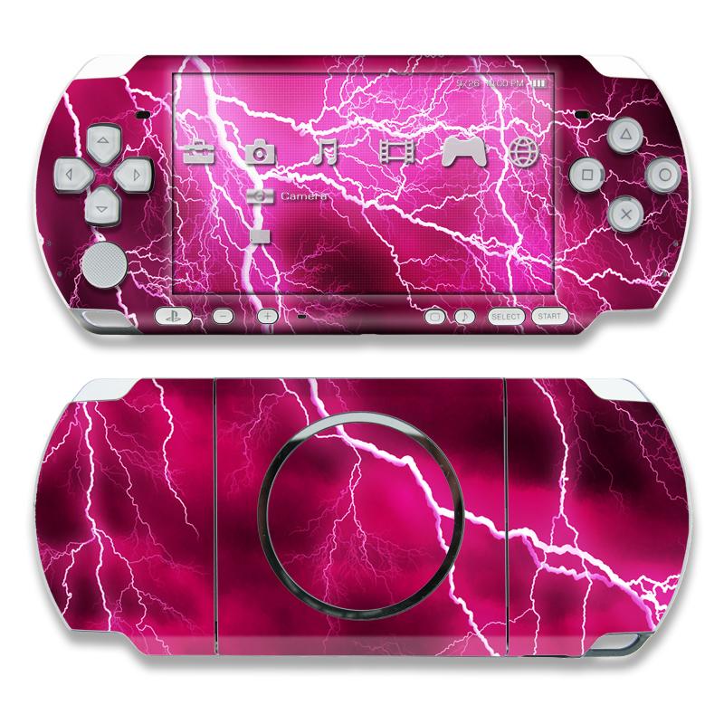 Apocalypse Pink PSP 3000 Skin